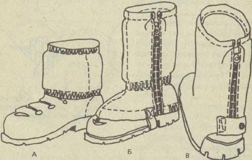 Туристическая обувь своими руками