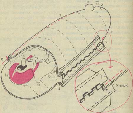 Как сшить спальный мешок из одеяла 37